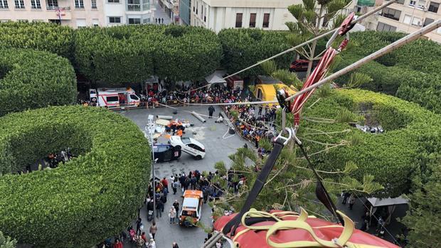 Jornadas del grupo de Bomberos de Alicante este 23 de marzo en Almoradí, en el 190 aniversario del terremoto
