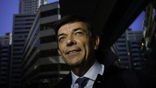 Carlos Andradas, rector de la Complutense y candidato a la reelección