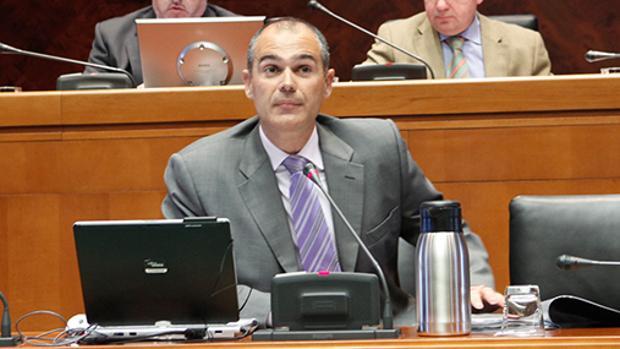 Francisco Pozuelo, director general de Tributos del Gobierno aragonés