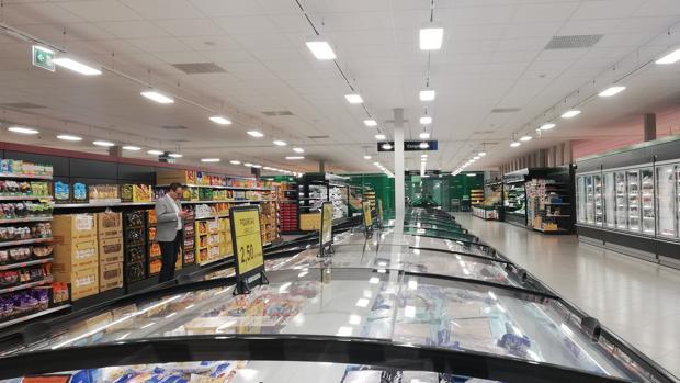 Imagen de uno de los supermercados de Mercadona