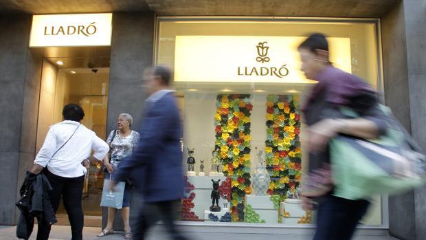 Imagen de una de las tiendas de Lladró en Valencia