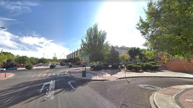 El accidente ha tenido lugar en la calle Río Fresnedoso, en el Polígono residencial