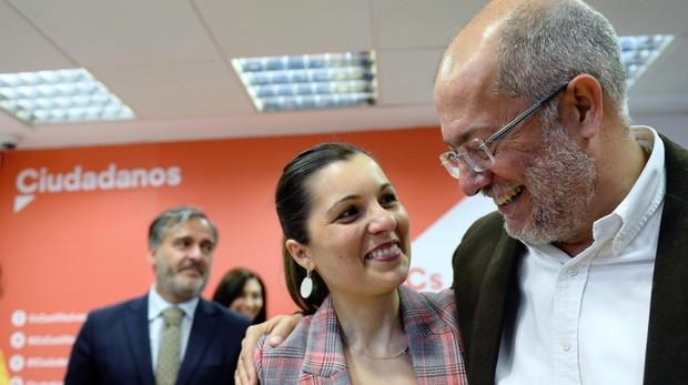 Francisco Igea junto a la candidata al Congreso por Valladolid, Soraya Mayo