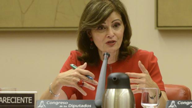 Ana Botella, secretaria de Estado de Seguridad y presidenta del Comité Especializado de Inmigración