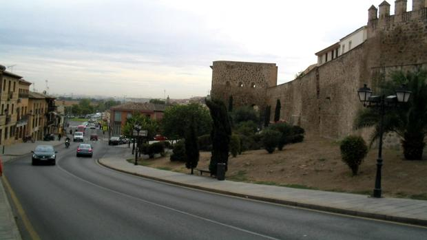 Calle Carrera, en Toledo, donde se ha producido el atropello
