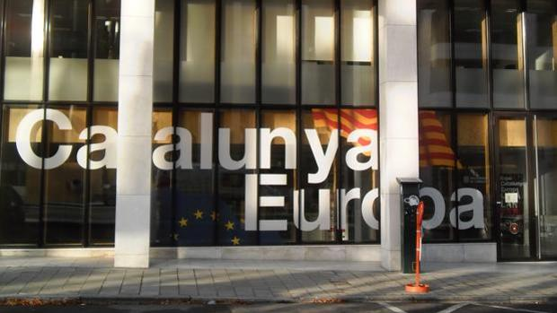 La «embajada» catalana en Bruselas