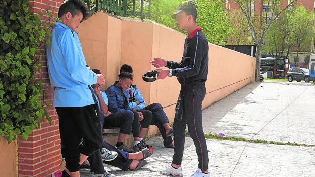 Menores inmigrantes no acompañados, en el centro de Hortaleza