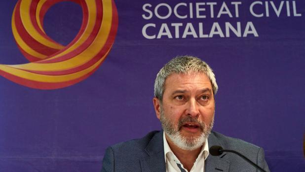 El presidente de Societat Civil Catalana, Josep Ramon Bosch