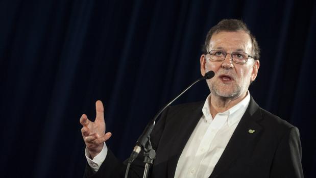 Mariano Rajoy, en un acto electoral, en una imagen de archivo
