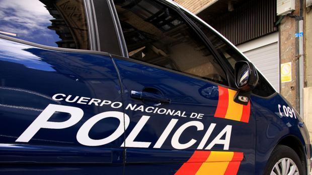 Fotografía de archivo de un coche de la Policía Nacional