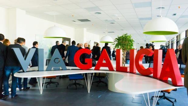 Centro de coworking donde se instalan en la primera fase los seleccionados por ViaGalicia