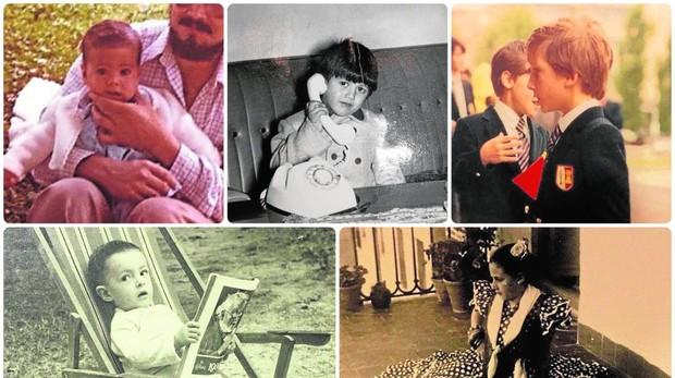 Los candidatos a la Alcaldía de Madrid, cuando eran pequeños