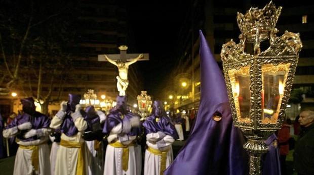 Procesión de Semana Santa en Valladolid