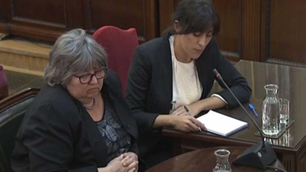 El testimonio de la supuesta «observadora internacional» Helena Catt (en primer plano) no resultó nada convincente