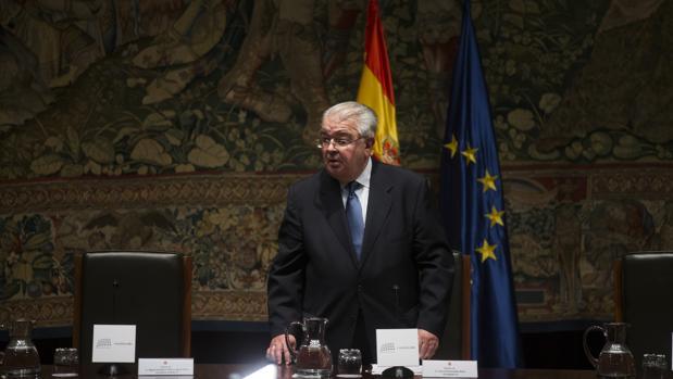 Juan José González Rives, presidente del Tribunal Constitucional, en diciembre