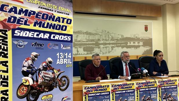 Jesús Bermúdez, Jaime Ramos y Montaña Palacios durante la presentación