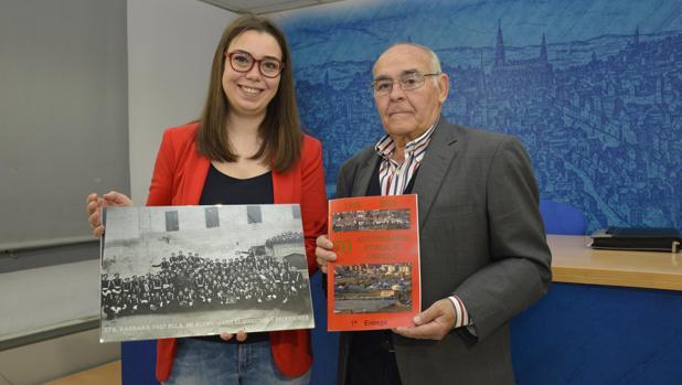 Nuria Cogolludo ha presentado la exposición «Azumel» en la sala de prensa del Ayutnamiento