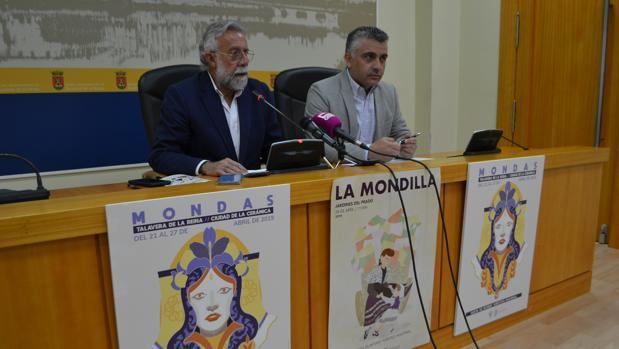 Jaime Ramos durante la presentación de Las Mondas
