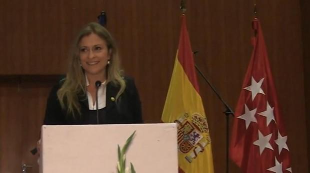 La actual delegada del Gobierno de Madrid, e