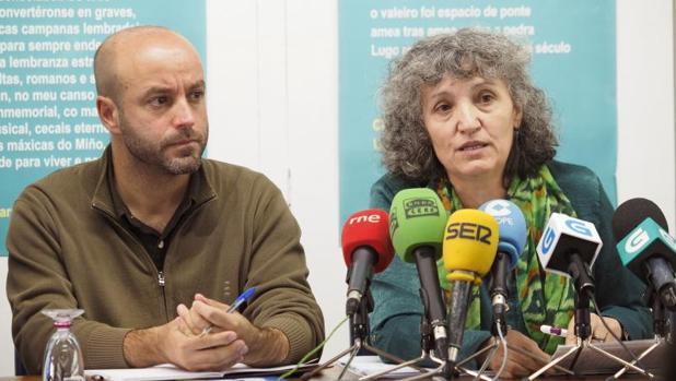 Lidia Senra y Luís Villares en una imagen de archivo