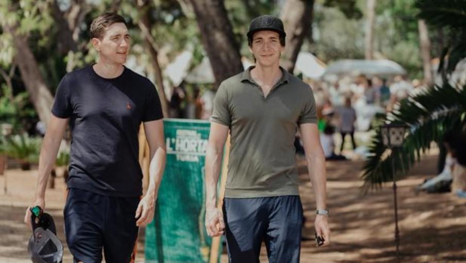 Los gemelos Phelps de Harry Potter asisten por sorpresa al Festival de l'Horta Turia 2019