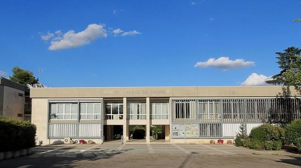 Entrada del Liceo Francés