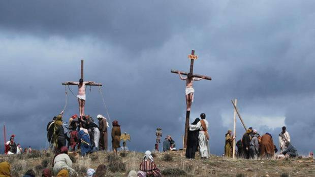 Imagen de la Pasión Viviente de Hiendelaencina (Guadalajara)