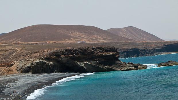 Imagen de la isla de Fuerteventura