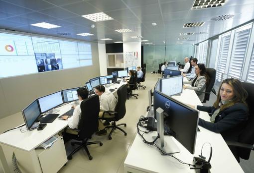 Imagen del departamento de Informática de Mercadona