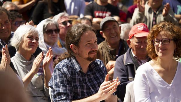 Pablo Iglesias, candidato por Unidas Podemos en las eleccioens generales 2019