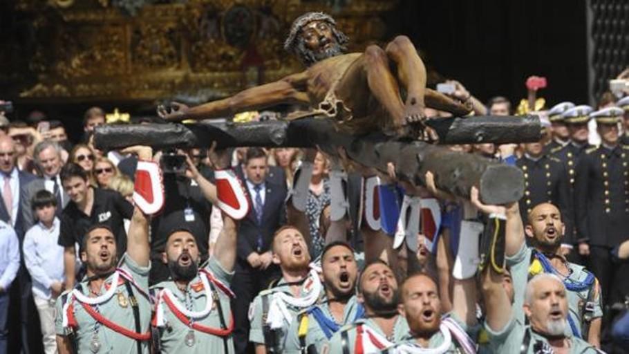 Vea en directo la procesión del Cristo de la Buena Muerte