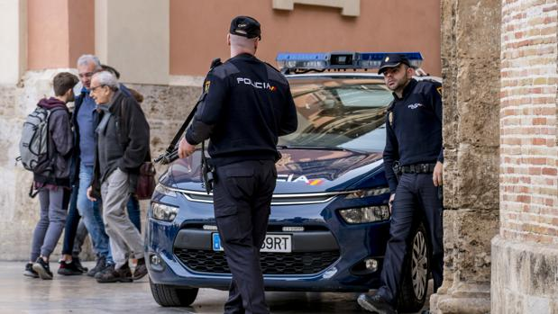Agentes de la Policía Nacional, en una imagen de archivo