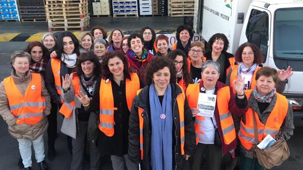 Recortes Cero ha participado en un acto en Vecindario, Gran Canaria, de recogida de firmas para el Europarlamento