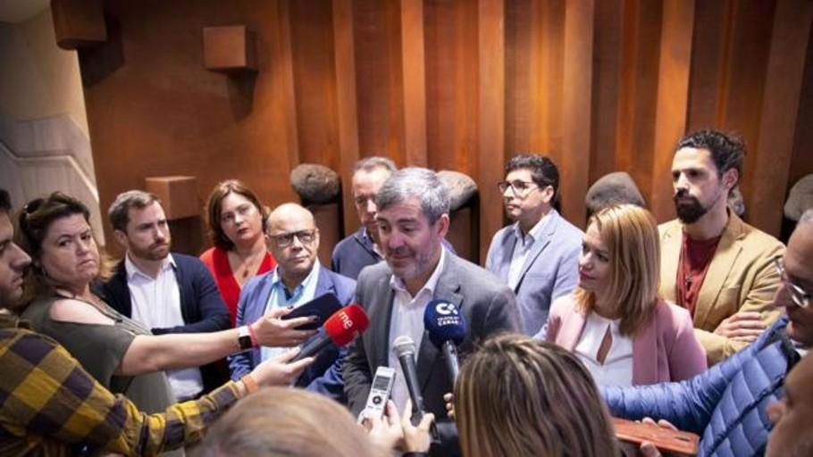 Clavijo reaparece para presentarse a la reelección en Canarias