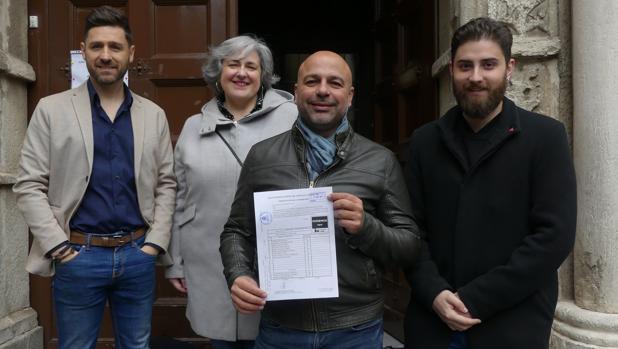 García Molina ha presentado su candidatura este sábado en la Audiencia de Toledo