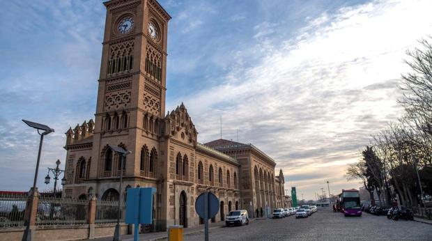 De estilo mudéjar, la Estación de Tren de Toledo es una de las más bellas de España