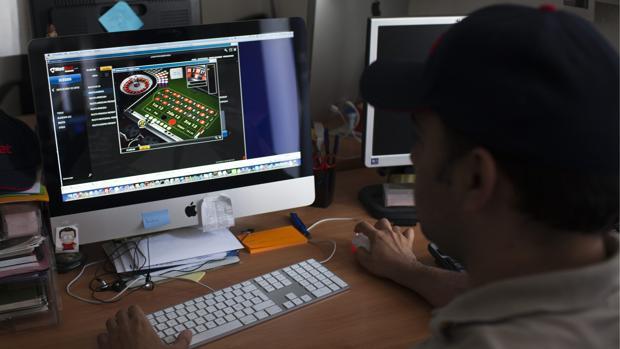 Un usuario durante una partida online