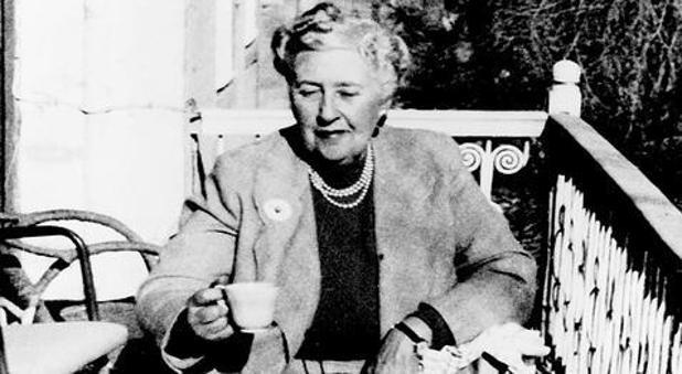 Agatha Christie, en 1950
