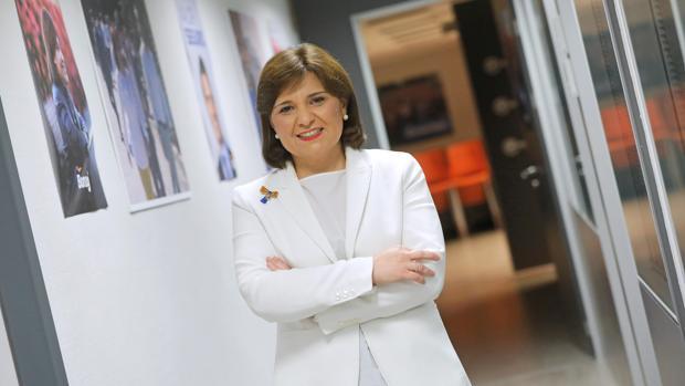 Isabel Bonig, en la sede del PPCV