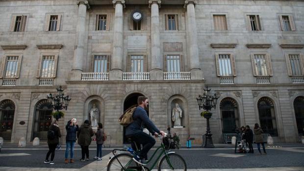 La fachada del Ayuntamiento de Barcelona, en una imagen reciente