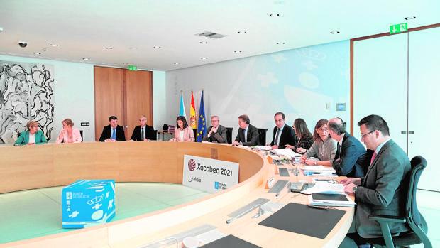 Reunión semanal del Gobierno gallego este jueves en la sede institucional de San Caetano