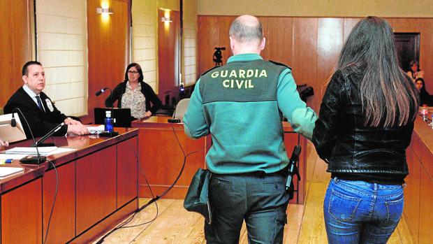 La madre de la niña Sara delaró ayer en el juicio celebrado en Valladolid