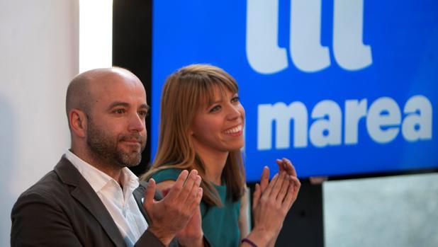 Luís Villares, el viernes, en el mitin de cierre de campaña