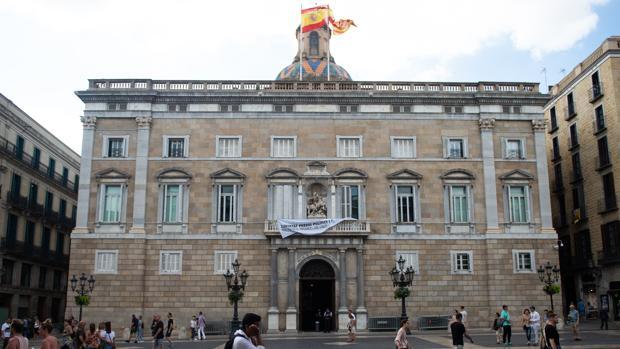 El palacio de la Generalitat en Barcelona