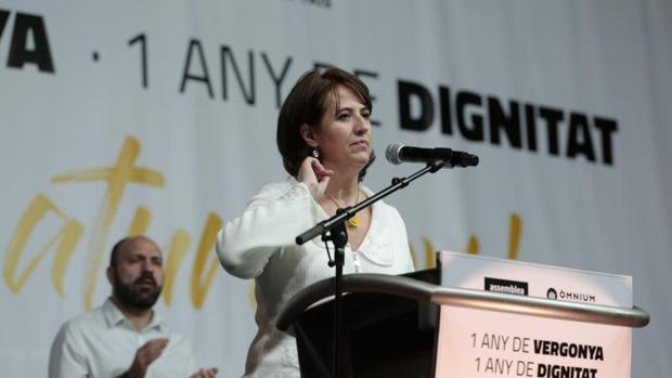 Elisenada Paluzie, presdenta de la ANC