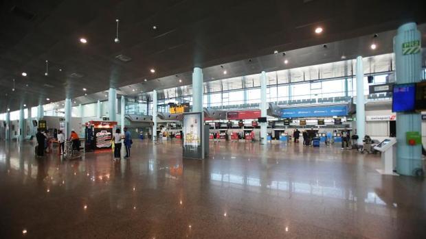 Una foto de archivo del aeropuerto vigués