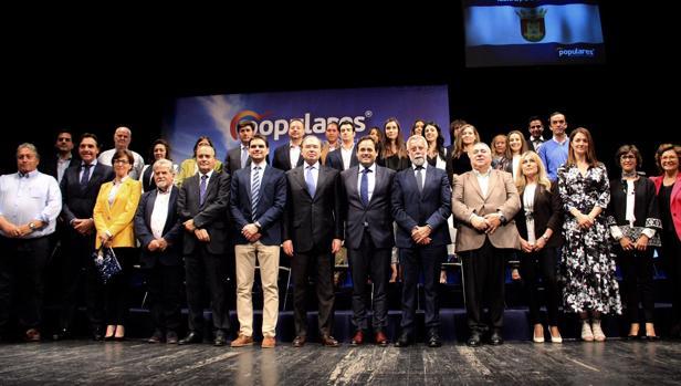 Jaime Ramos presentó su candidatura en el Tearo Victoria