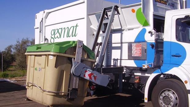 Gesmat es la empresa encargada de recoger la basura