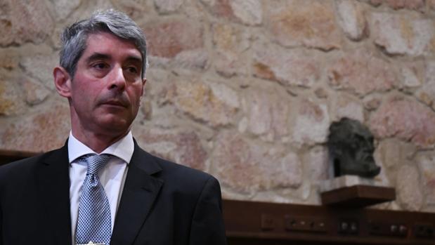 El coronel Ángel Gómez de Ágreda, autor del libro «Mundo Orwell»