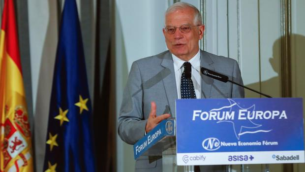 Josep Borrell, ministro de Exteriores en funciones